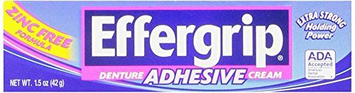 Efferdent #denture cleanser cleans full plate dentures, partials, retainers and other dental appliances. Its unique effervescence powers away tough stains and pe...