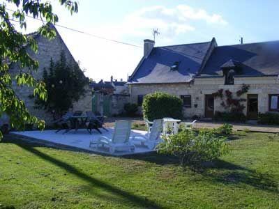 Chambres d'hôtes à vendre à Restigné en Indre-et-Loire
