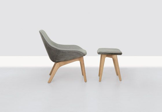 Morph Longe and Ottoman by Formstelle for Zeitraum