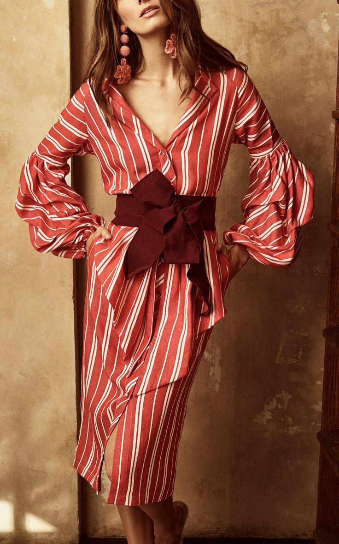 Santa Fe Linen Dress by Johanna Ortiz