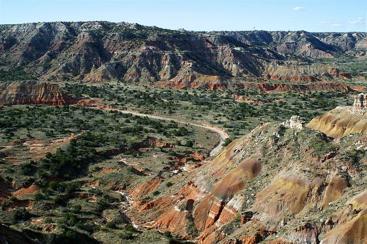 BATTLE OF PALO DURO CANYON - In 1874, U.S. cavalry troops led by Col. Ranald S. Mackenzie carried out a surprise attack on Cheyenne, Comanche, and Kiowa bands at this spot in Palo Duro Canyon in the Texas panhandle.  Destroying their winter stores and horse herds, it was a devastating loss from which the tribes could not recover.  Most returned to their reservations and the Southern Plains Indian would no longer pose a threat to whites' expansion and settlement across their ancestral…