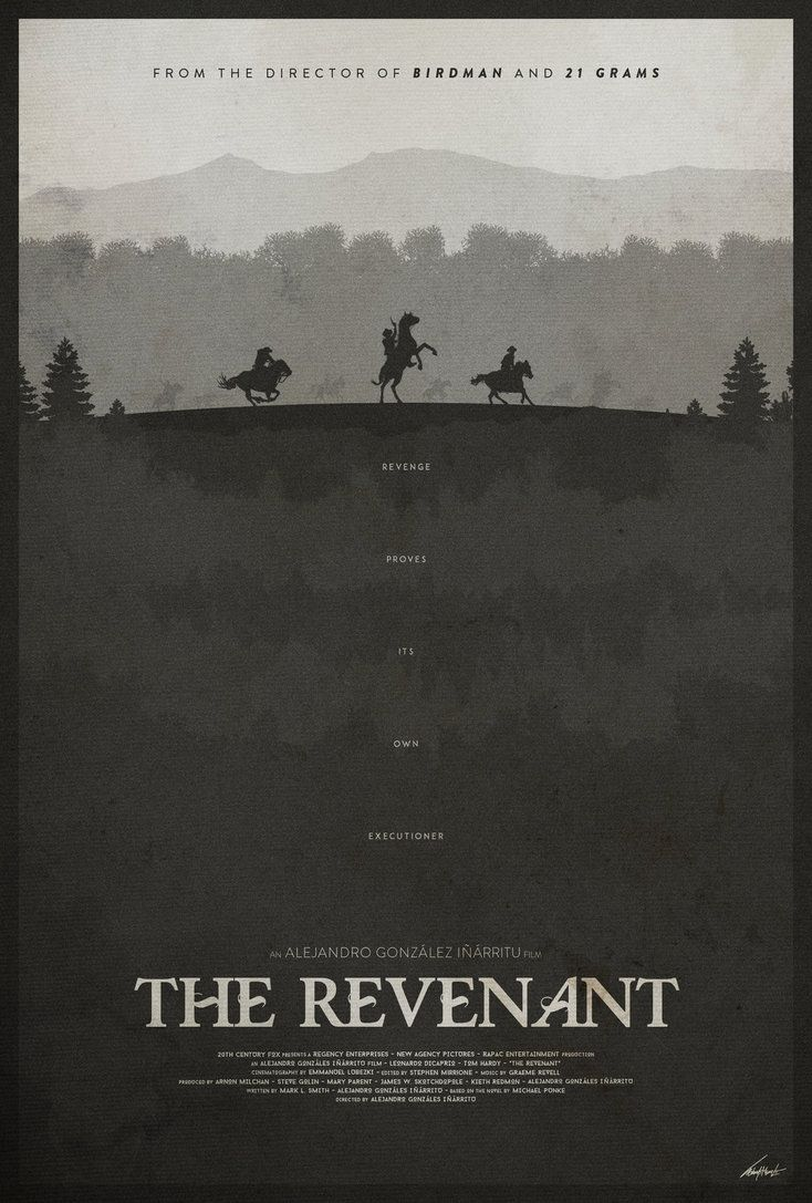 Vindication - The Revenant Poster by edwardjmoran on DeviantArt