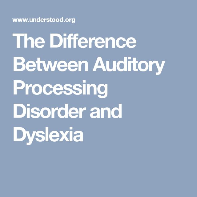 The Difference Between Auditory Processing Disorder and Dyslexia