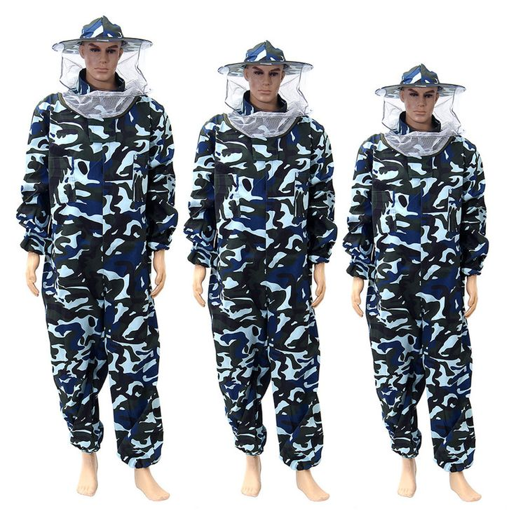 Protecting Dress Camouflage Beekeeping Veil Bee Suit Protective