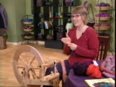 Spinning 101 on Knitting Daily TV Episode 213...This lady's video is very instructive...I'm planning how I will set up my spinning and weaving studio at Red Oak II and which of our buildings will be suitable and large enough to acommodate all the looms and necessary equipment...I have stored all the studio equipment since I closed my Gift Shop in Branson so I'm really excited to set up a studio again and have some creative fun...