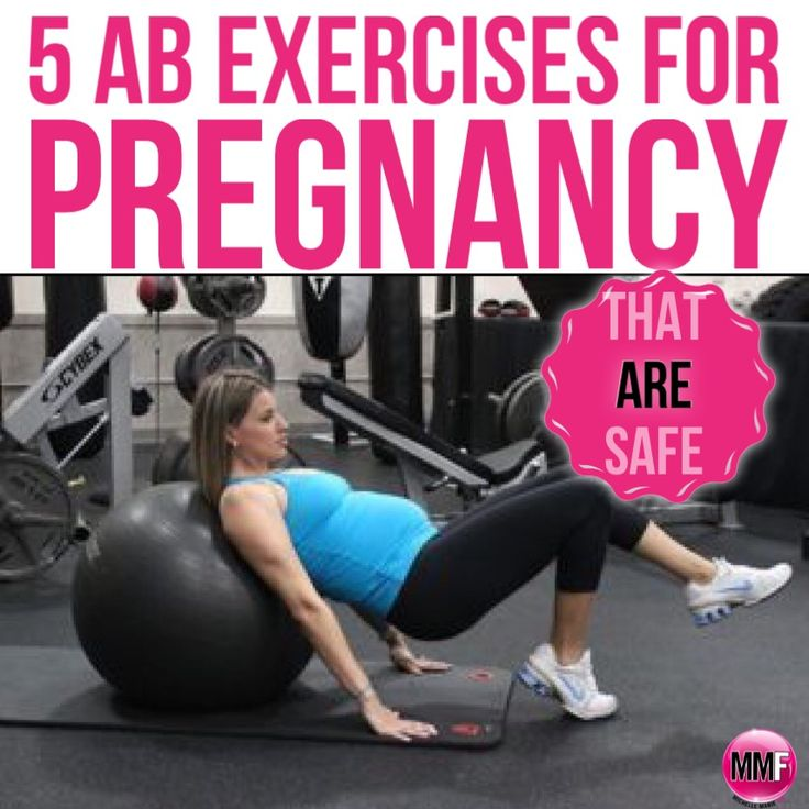 5 AB Exercises for pregnancy that are safe and can be done at home to prevent th...