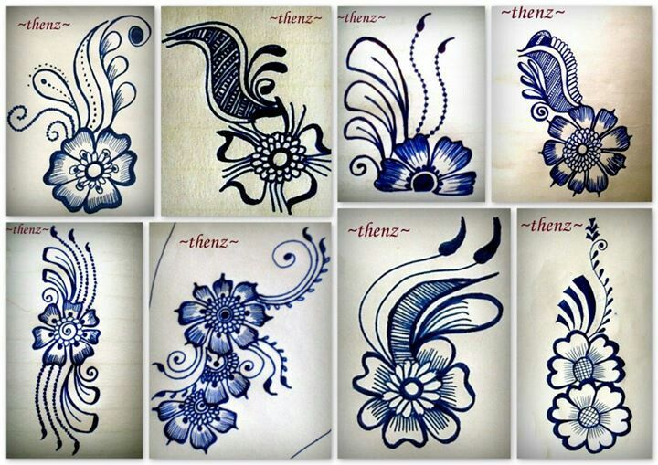 Learn Mehndi Patterns : Best henna on paper images pinterest tattoo ideas