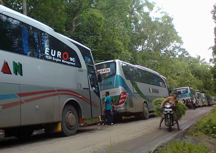 Bus Blusukan Di Ambal Kebumen