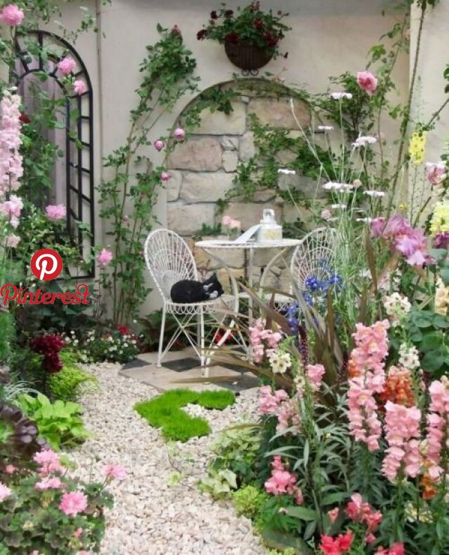 Message Salvabrani Small Cottage Garden Ideas Small Courtyard