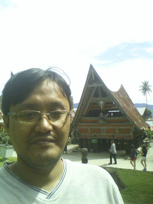 Old batak house