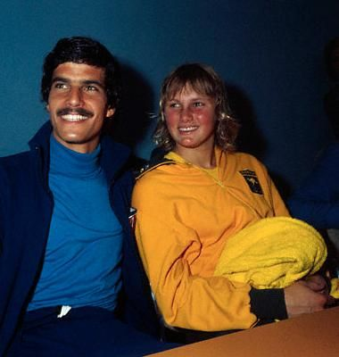 Mark Spitz (7 Gold) & Shane Gould (3 Gold, 1 Silver, 1 Bronze) were the dominant swimmers of the 1972 Olympics at Munich, Germany.