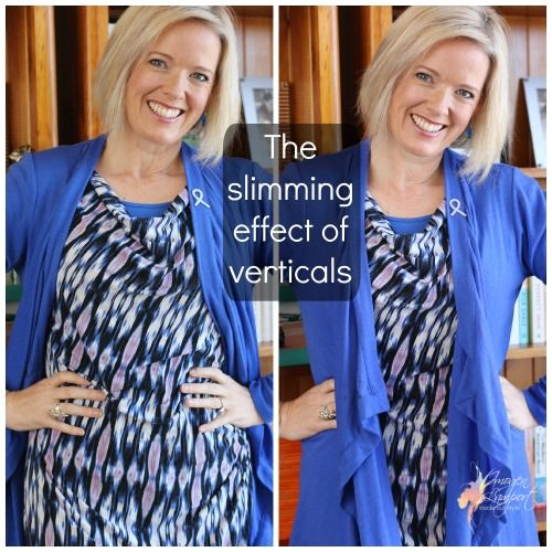 Body ProportionsOctober 9, 2014 The Slimming Effect of Verticals and How to Use Them in Your Outfit By Imogen