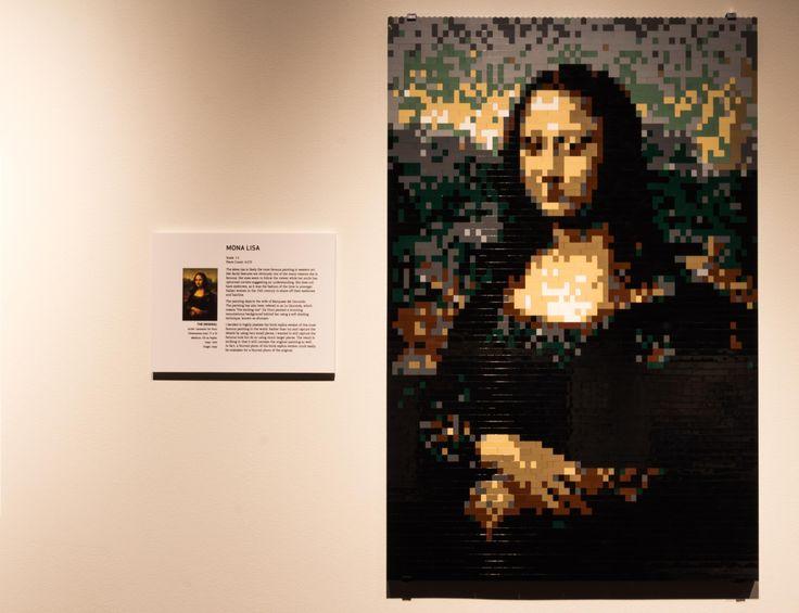 Nathan Sawaya -Art of Brick exhibition