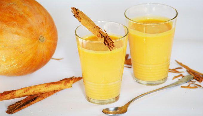 Sütőtök turmix: ragyogó ősz a pohárban