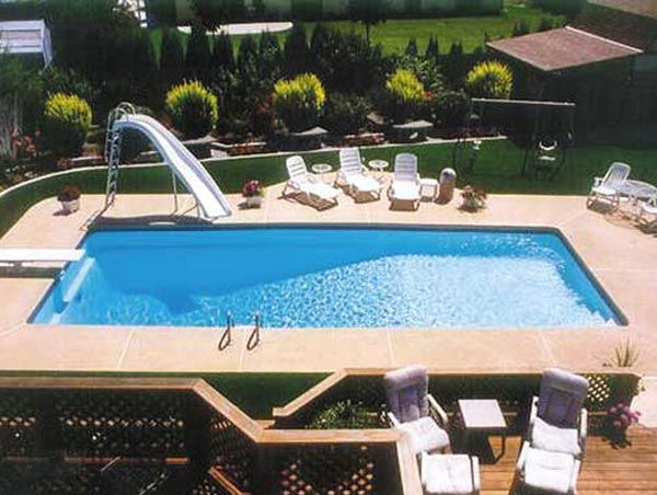 Small Inground Swimming Pool Designs | ... pool by viking fiberglass pools 600x452 Fiberglass Inground Pools
