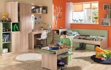 Dětský nábytek, dětský pokoj (sestava) VIVO