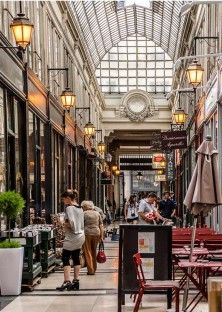 Le passage Jouffroy à Paris