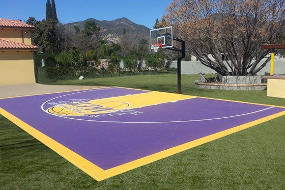 Versacourt Indoor Outdoor Backyard Basketball Courts Basketball Court Backyard Backyard Basketball Outdoor Basketball Court