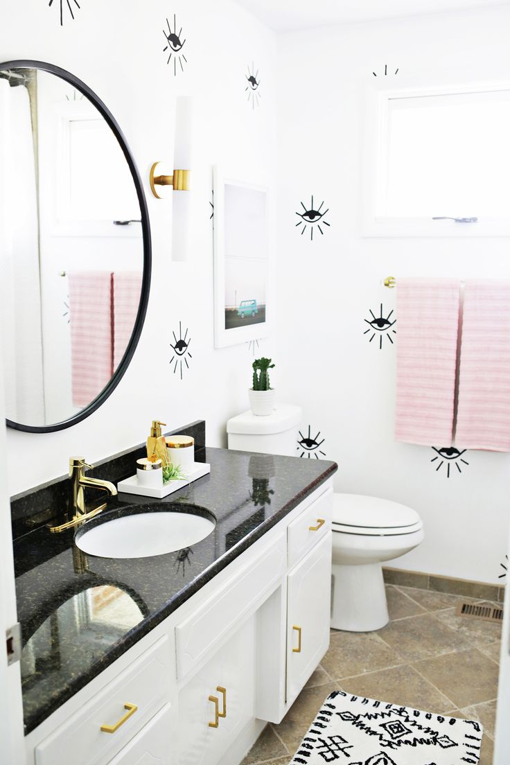 Laura's Guest Bathroom (Before + After!)