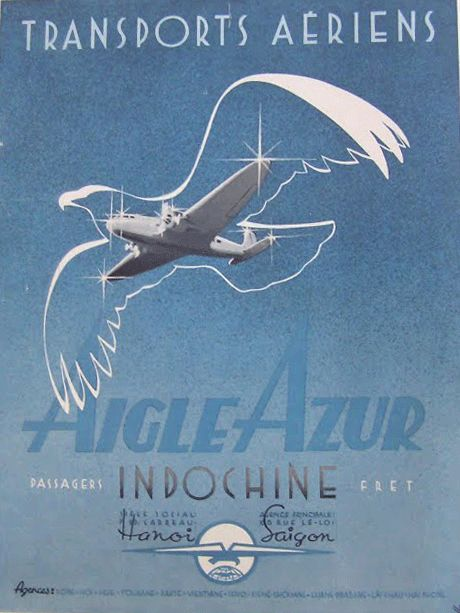 Indochine - Compagnie Aigle Azur