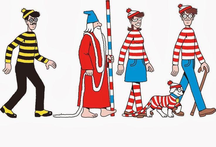 Mijn eigen plekkie: Waar is Wally?Where's Waldo?....