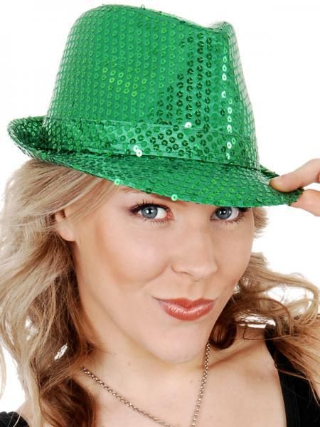 Let's Party With Balloons - Dr Tom's Trilby Sequin Hat - Green, $14.00 (http://www.letspartywithballoons.com.au/dr-toms-trilby-sequin-hat-green/)