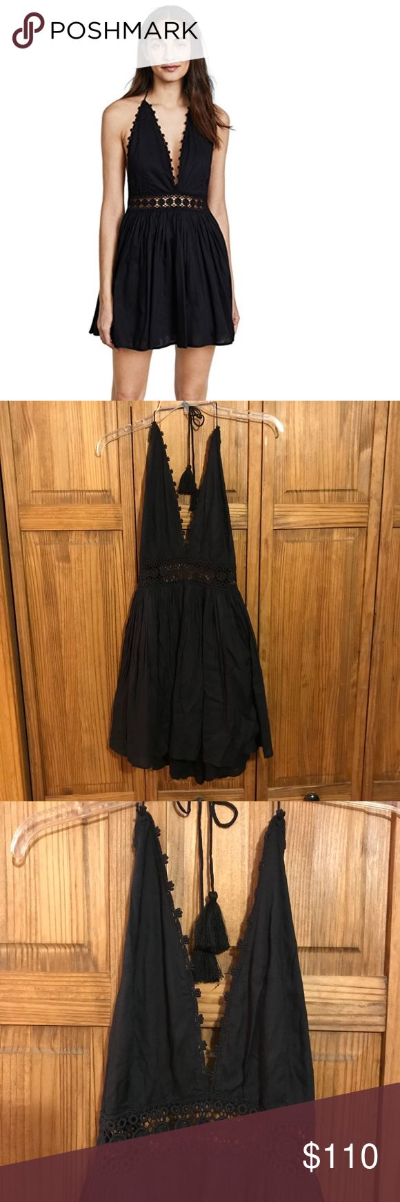 PilyQ Celeste Dress  NWOT PilyQ Celeste Dress  NWOT. Perfect condition! Size: XS/S Make an offer!  Details: -Length: 36.5in / 93cm, from shoulderDETAILS -Fabric: Crepe -Tiered skirt -Lace trim at bust -Tie at neckline -Lined -Shell: 100% rayon -Lining: 100% cotton Pilyq Dresses