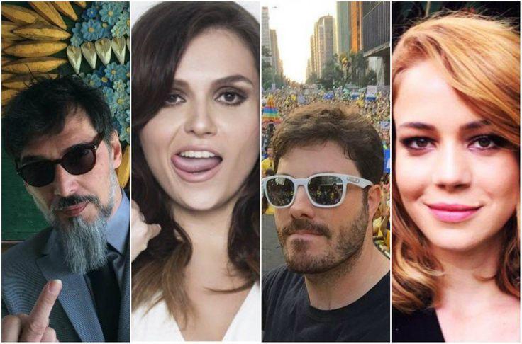 Confira a reação dos famosos após a votação do impeachment