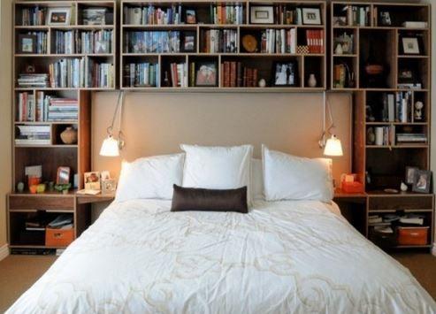 44 Akıllı Yatak Odası Depolama Çözümleri | Dekor Aynası