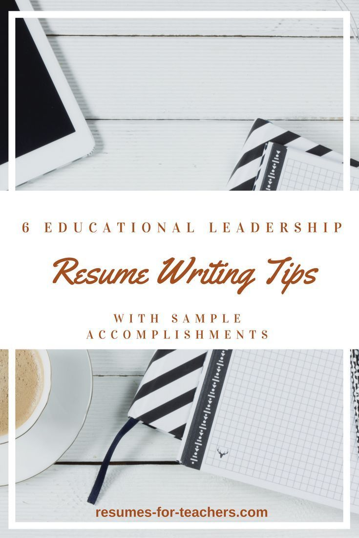Your education leadership resume must convey your leadership skills, a progression of responsibility, administrative accomplishments, and the other talents and traits that come with the territory.