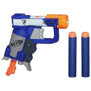 £3.75... Buy Nerf N-Strike Elite Jolt EX-1 Blaster at Argos.co.uk, visit Argos.co.uk to shop online for Blasters, launchers and accessories, Action toys and blasters