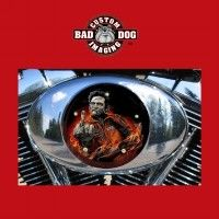 Johnny Cash Zombie Design Air Filter Insert for all makes of Harley Davidson motorcycles