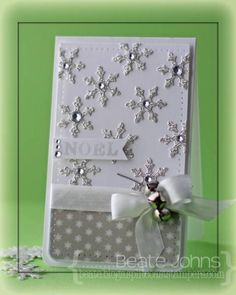 Sparkly Flakes by Beate - Cards and Paper Crafts at Splitcoaststampers