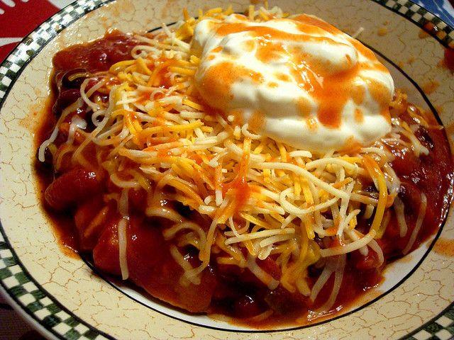 Vegetarian black bean chili | Favorite Recipes | Pinterest