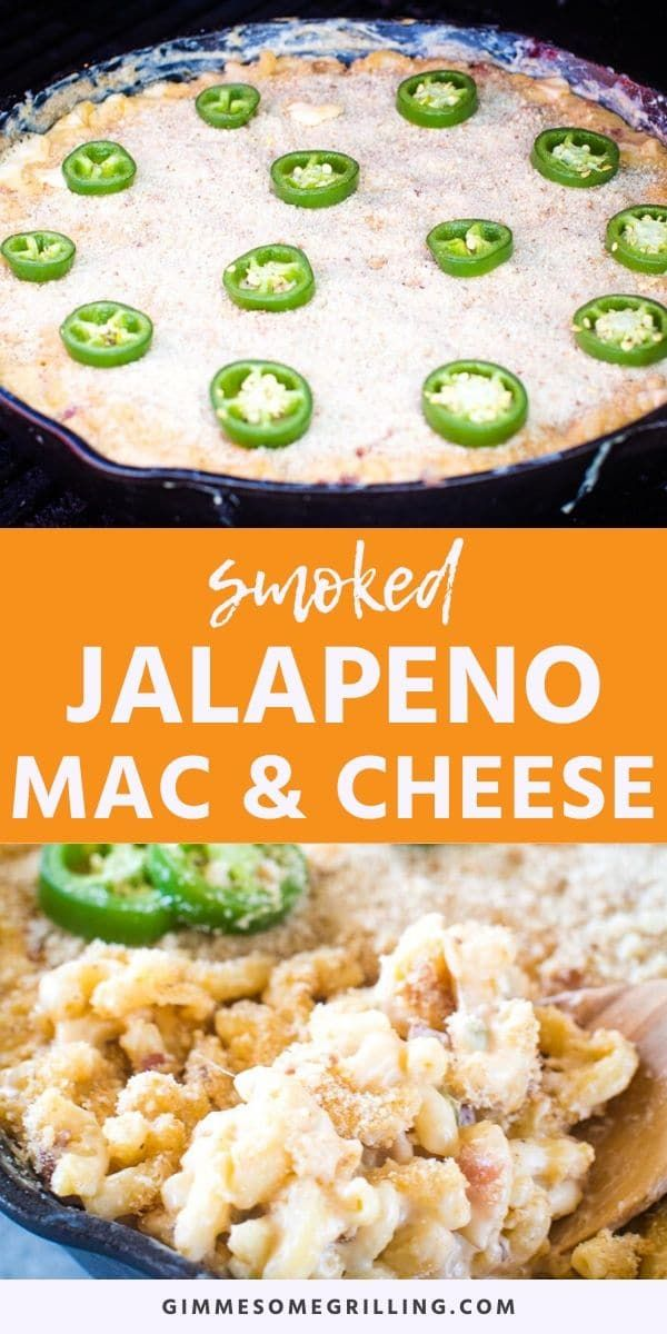 Smoked Jalapeno Popper Mac And Cheese Is A Creamy Homemade Mac And