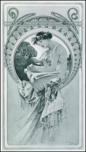 1000 images about alphonso mucha on pinterest art for Poster decoratif