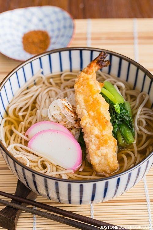 Soba Noodle Soup | Easy Japanese Recipes at JustOneCookbook.com @justonecookbook