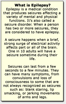 seizure action plan for adults