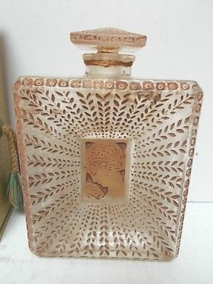 "Houbigant ""La Belle Saison"". R Lalique Perfume With Box 