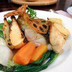 GRILL Rindo(グリルリンドー)岡山市 - 黒鯛のポワレ、焼き竹の子添え