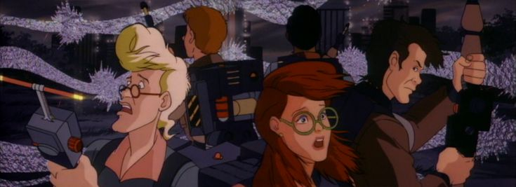 """This is a collage of screen caps of the """"five"""" Ghostbusters from Real Ghostbusters episode """"Robo-Buster"""". I made this collage plus many others for Ghostbusters Wiki. . For full size, Click Download."""