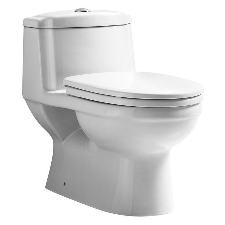 Whitehaus WHMFL3222-EB Eco-Friendly One Piece Traditional Toilet - WHMFL3222-EB