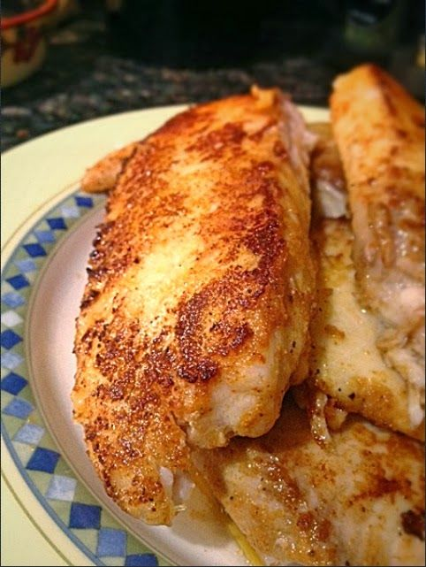 Pan-fried Tilapia               How about a moist, healthy and delicious Pan-fried Tilapia for tonight's dinner? Full of flavo...