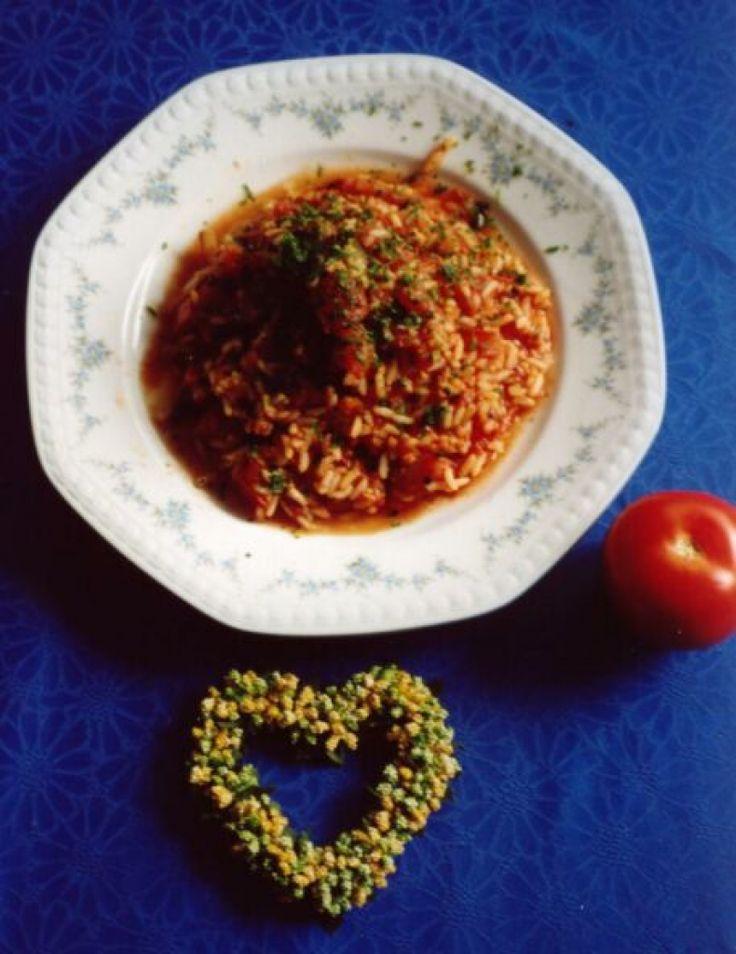 Rezept für Tomatenrisotto mit Basilikum bei Essen und Trinken. Ein Rezept für 3…