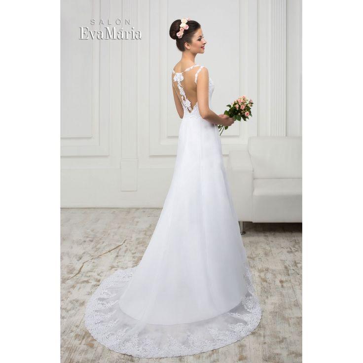 Svadobné šaty s vlečkou Yesenia
