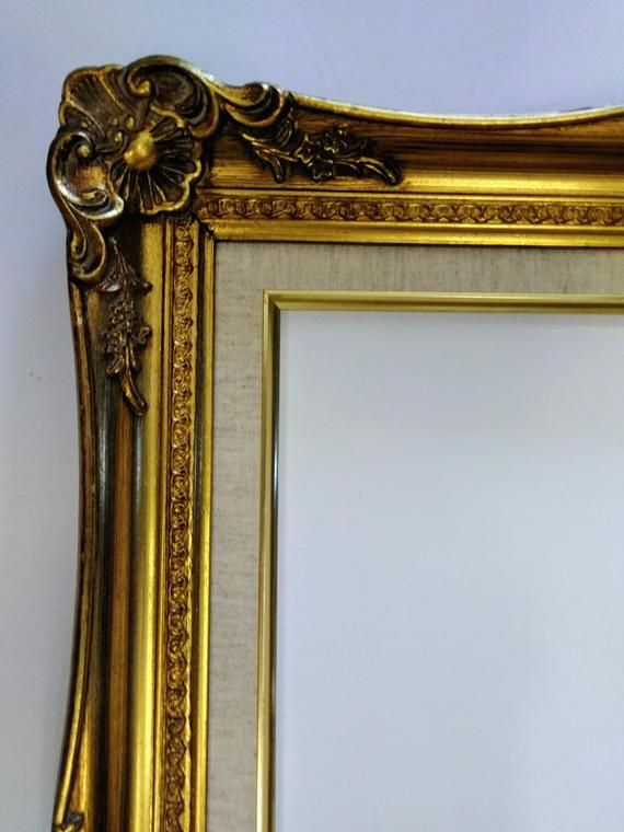 12 X 16 Gold Leaf Wood With Etsy Making Picture Frames Oval Picture Frames Ornate Picture Frames