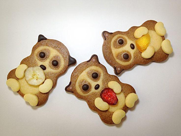 Pygmy Slow Loris Cookies スローロリス 可愛い クッキー