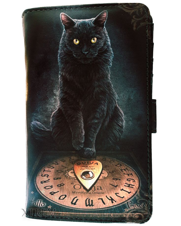 Monedero His Masters Voice de Lisa Parker #gato #negro #black #cat #wallet #billetera #occult #nugoth #xtremonline