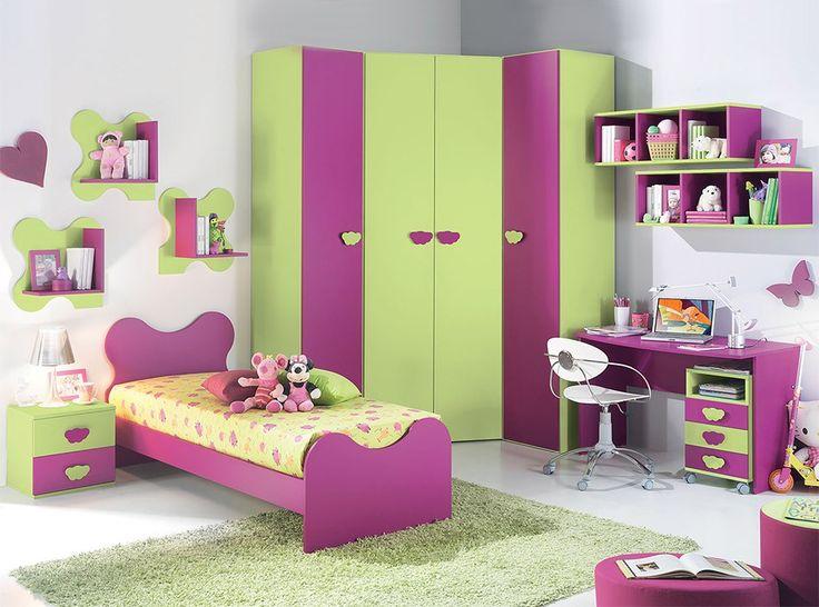 European Kids Bedroom Set Vv G055, Kids Furniture Set