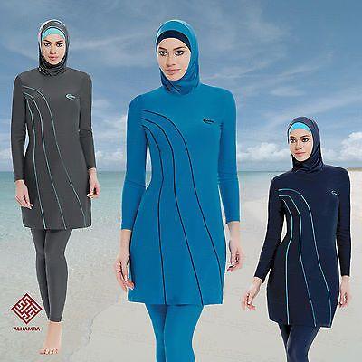 AlHamra Waterfall Modest Burkini Swimwear Swimsuit Muslim Islamic Sportwear